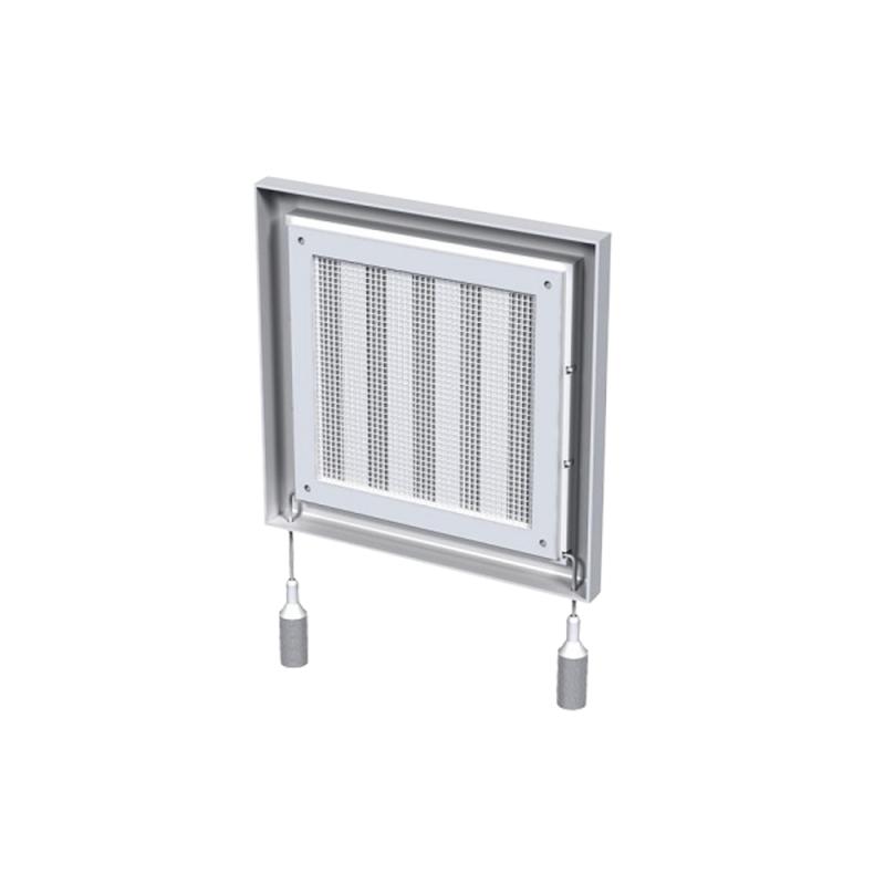 Вентиляционная решетка  Вентс МВ 100 РС